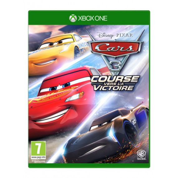 Jeux XBOX ONE MICROSOFT CARS 3 XBOX ONE
