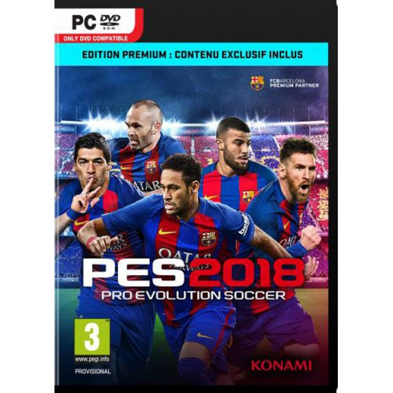 Jeux PS3 Sony PES 2018 EDITION PS3