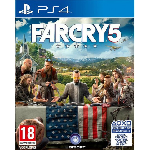 Jeux PS4 Sony FAR CRY5 PS4