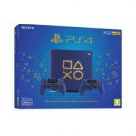 PS4 Sony SLIM 500G Blue Limited Edition