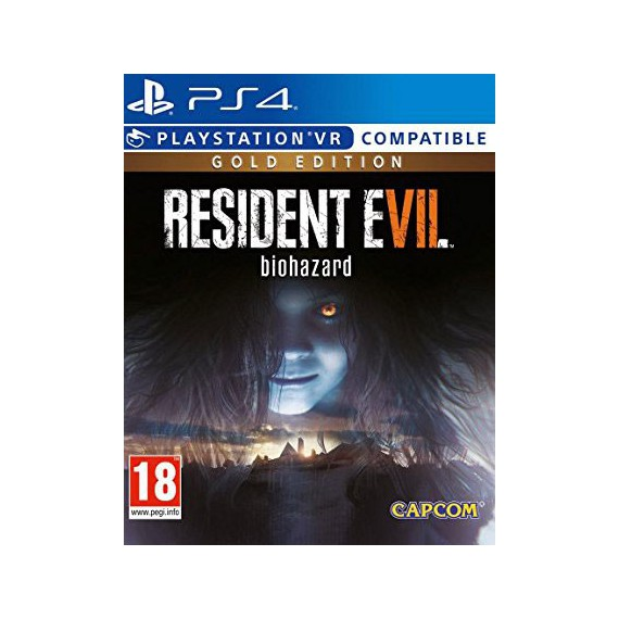 Jeux PS4 Sony Resident evil7 Gold edition