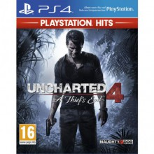 Jeux PS4 Sony HITS UNCHARTED4