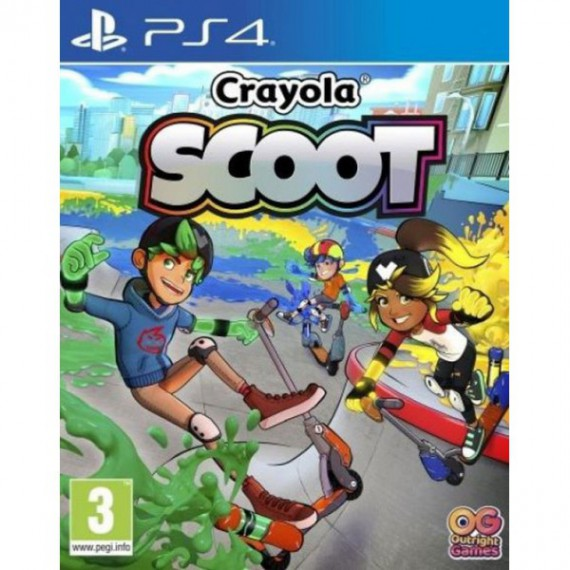Jeux PS4 Sony PS4 CRAYOLA SCOOT