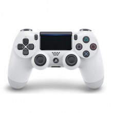 Sony Manette PlayStation 4 officielle, DUALSHOCK 4, Sans fil, Batterie rechargeable, Bluetooth, Glacier White