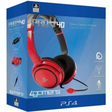 Casque micro Sony PS4 PRO4 40 RED