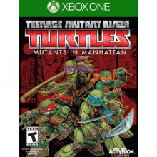 Jeux XBOX ONE MICROSOFT JEU xbox-one xboxone teenage mutant ninja turtles manhattan