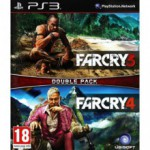 Jeux PS3 Sony PS3 Far Cry 3 Far Cry 4 Double Pack