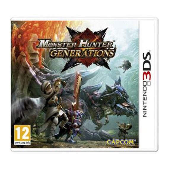 Jeux 3DS NINTENDO Monster Hunter Generations 3DS