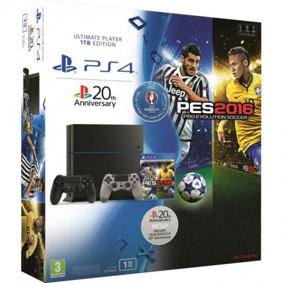 PS4 Sony PLAY STATION 4 play station 4 pes 2016