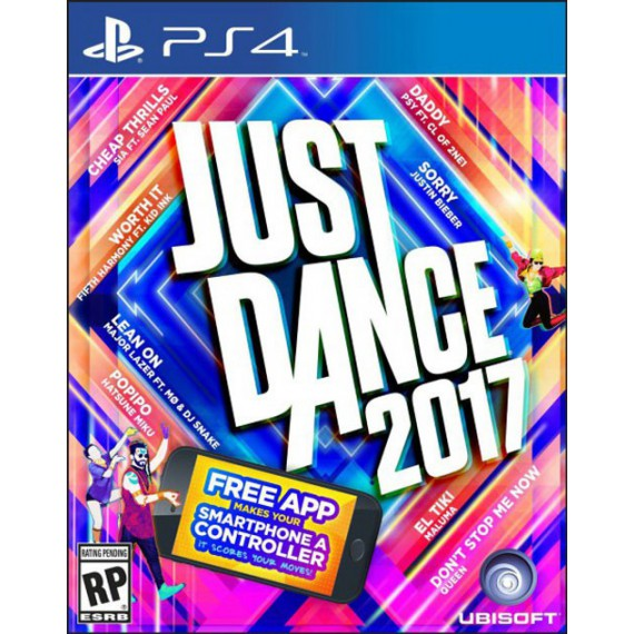 Jeux PS4 Sony Just Dance 2017 PS4