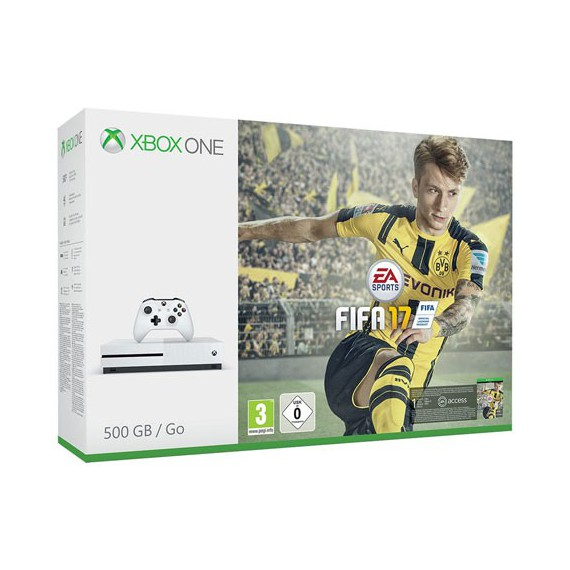 XBOX ONE MICROSOFT XBOX ONE Storm Grey Pack FIFA