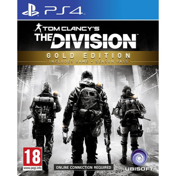 Jeux PS4 Sony THE DIVISION GOLD PS4