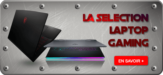 La sélection laptop gaming